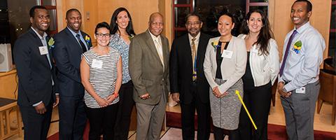 Photo of the 2015 Class of John A. Watson Faculty Scholars
