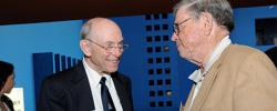 "Drs. Edmund ""Ted"" Eger and William ""Bill"" K. Hamilton, MD at the UCSF Anesthesia and Perioperative Care 50th Anniversary Celebration in 2008"