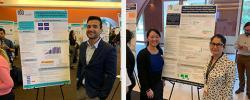Dr. Syed Ali, Dr. Solmaz Manuel, and Stephanie Kwan