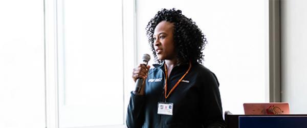 Dr. Ehie speaking