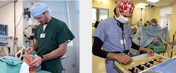 Intubation and drug choice during Anesthesia Simulation Session