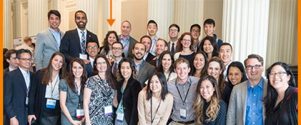 Dr. Kristina Sullivan pictured with UCSF Anesthesia faculty and residents at the 2017 Western Anesthesia Residents' Conference (WARC)