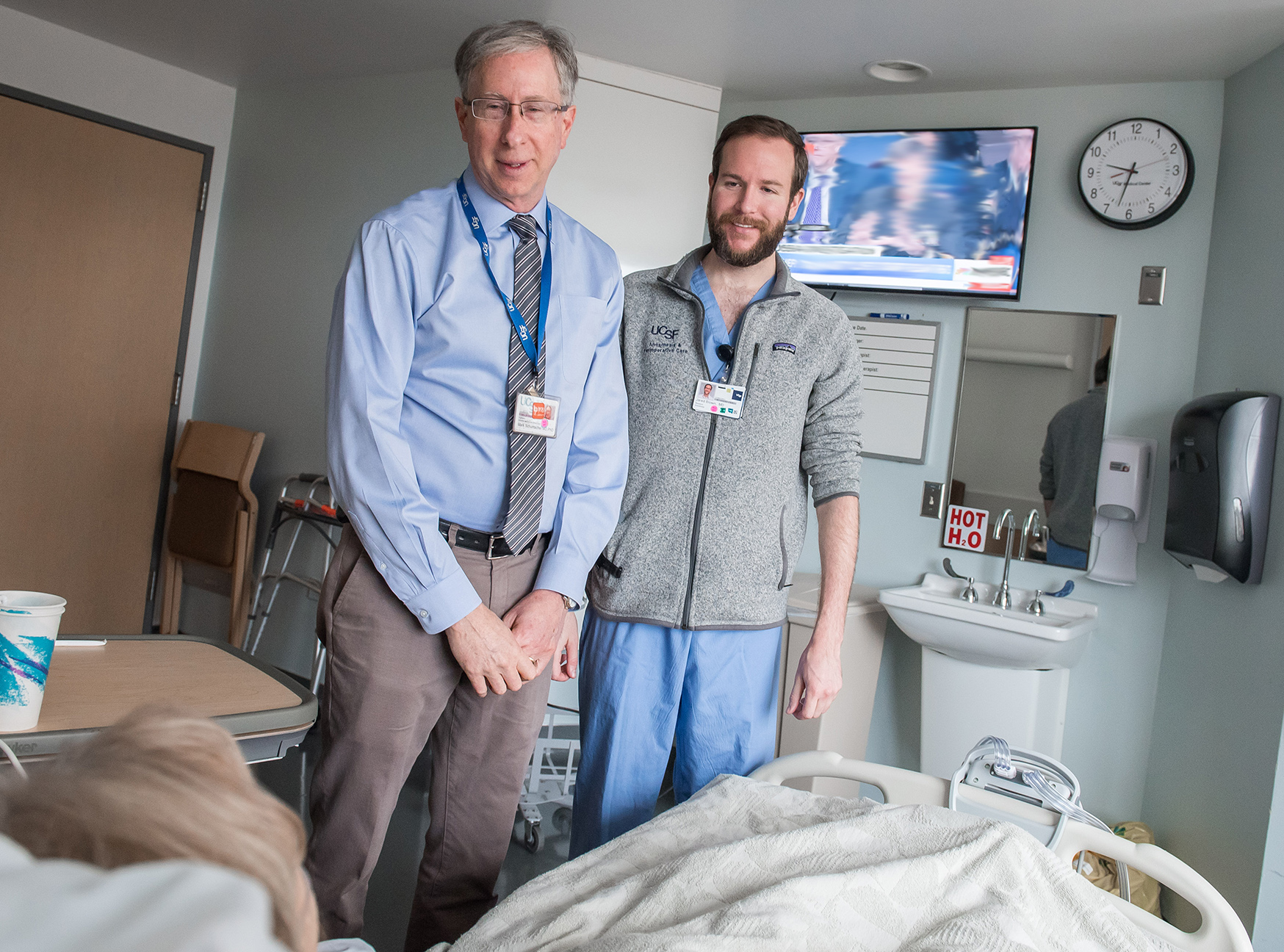 Drs. Mark Schumacher and Jared Brown