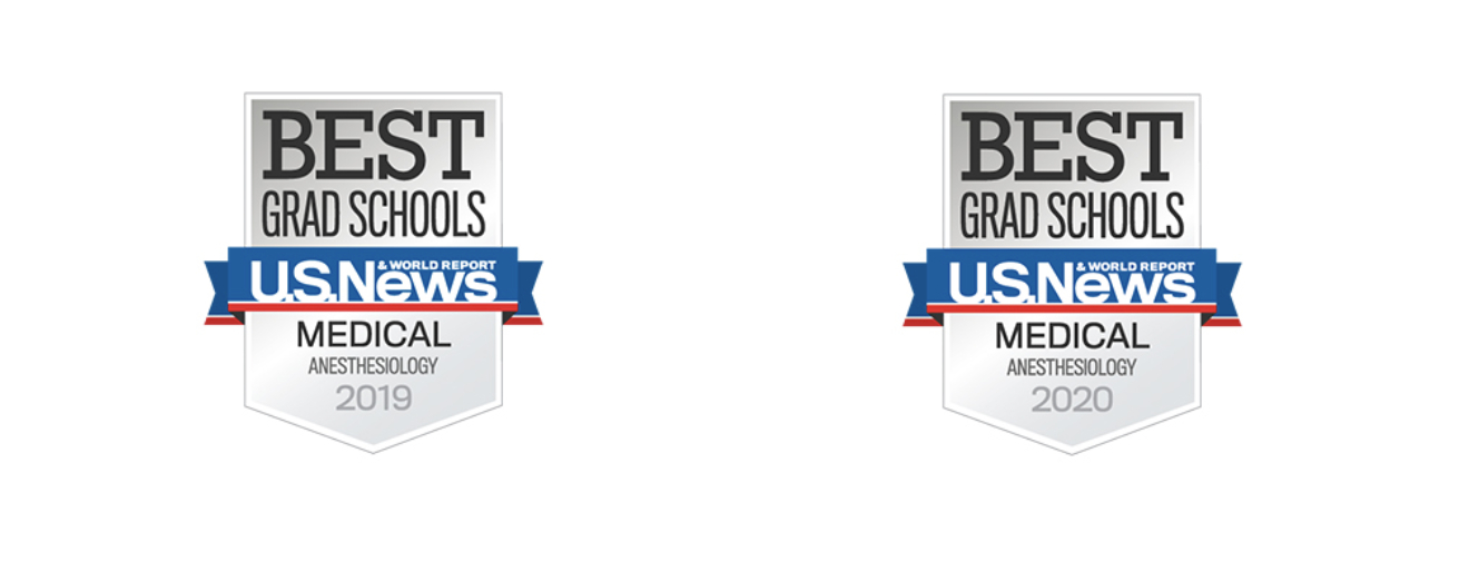 US News Best Grad School Badges for 2019 and 2020