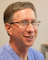 Dr. Mark Schumacher, Chief of the Division of Pain Medicine